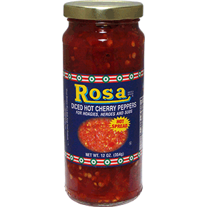 Rosa Diced Hot Cherry Peppers