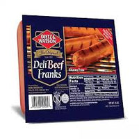 Dietz & Watson Deli Beef Franks (Hot Dogs)