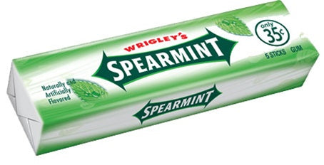Wrigley's Spearmint (5 Sticks)
