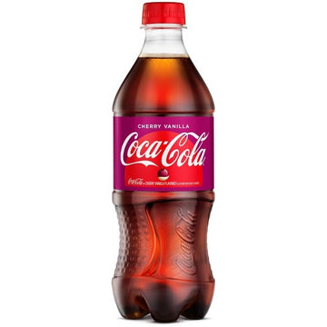 Cherry Coca Cola 20 fl oz