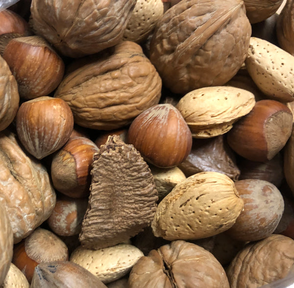 Mixed Nuts in the Shells