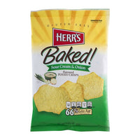 Herr's Baked Sour Cream & Onion Potato Crisps