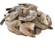 Frozen Raw Peeled Shrimp with Tails