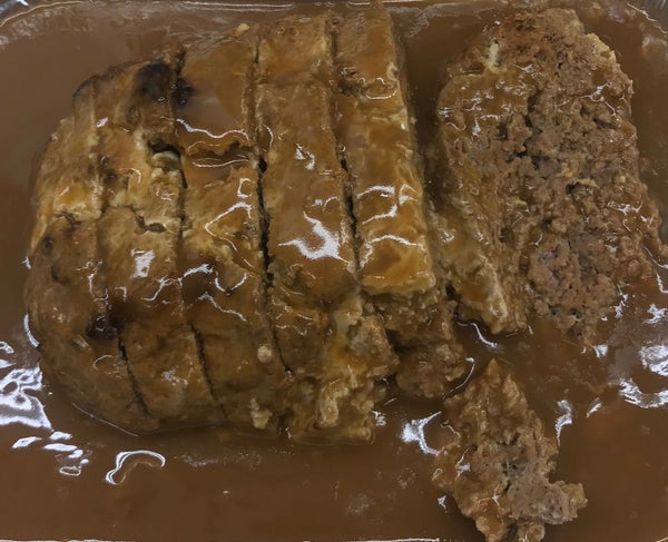 Homemade Meatloaf (Cooked)
