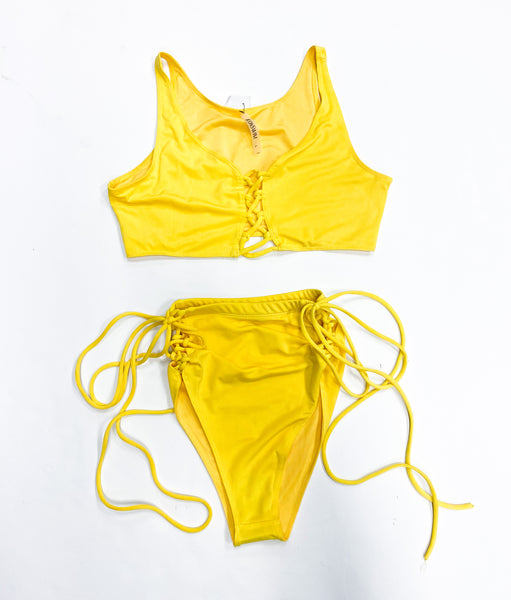 Yellow Women's Swimsuit