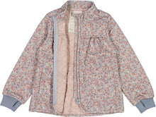 Load image into Gallery viewer, Thermo Jacket Thilde - Dusty dove flowers - Wheat - Spring 21