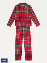 Load image into Gallery viewer, LS Pant Flannel - Check clash - Tommy Hilfiger