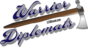 Warrior Diplomat Sticker