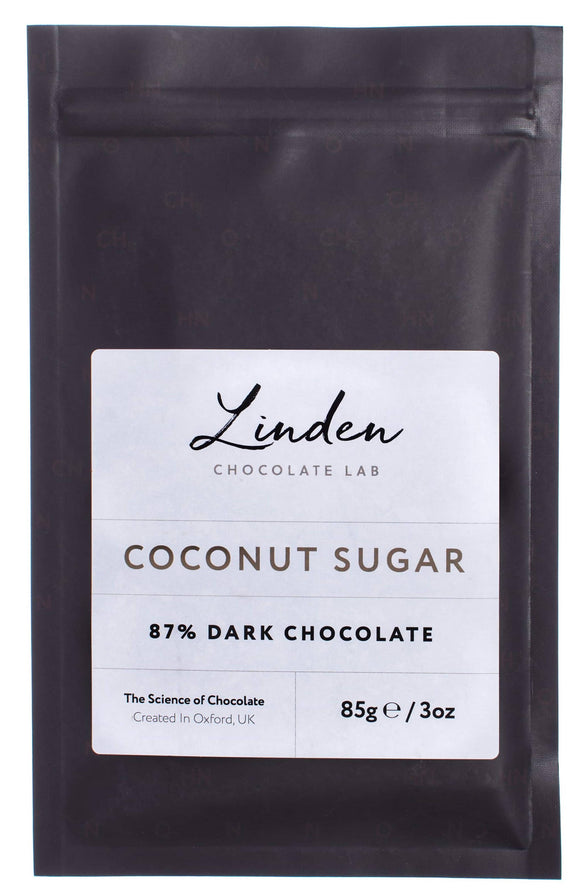 Dark Chocolate - 87% Coconut Sugar