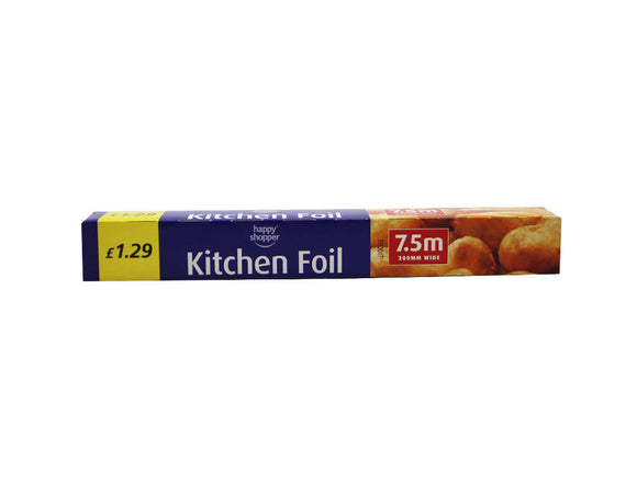 Kitchen Foil 7.5m xx 300mm