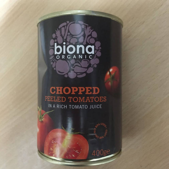Tomatoes Chopped Tinned 400g