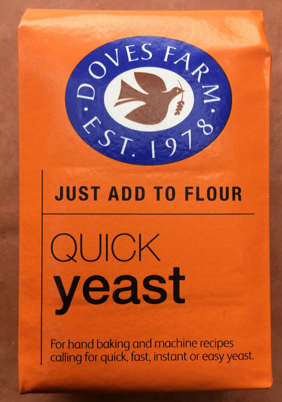 Yeast - Quick Dried 125g from Doves Farm