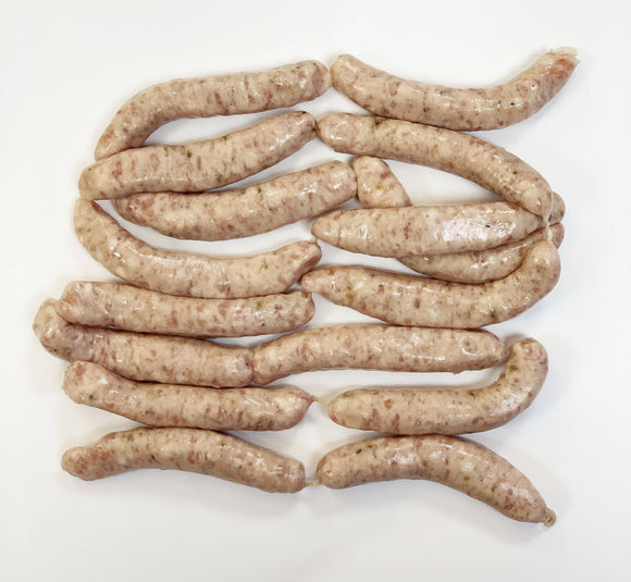 16 Gluten free Pork Chipolate Sausages