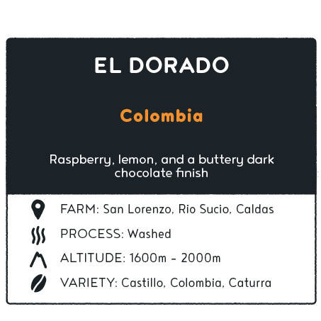 Coffee El dorado - Colombia