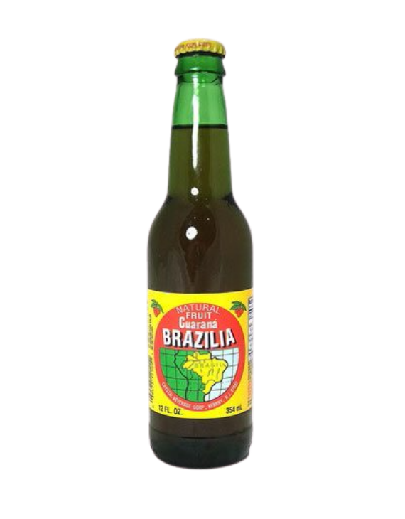 Guaraná Brazilia - 355ml / Brazilia Guarana Soda - 12oz