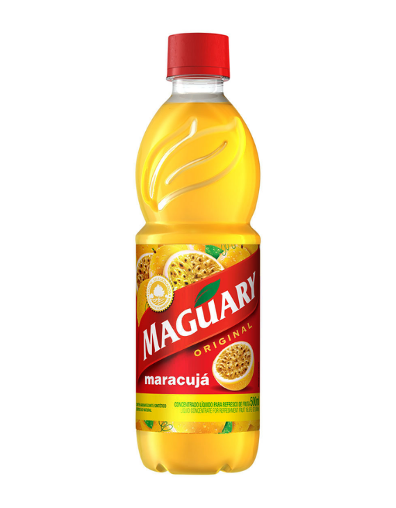 Concentrado de Maracujá Maguary - 500ml / Passion Fruit Concentrate Maguary - 500ml