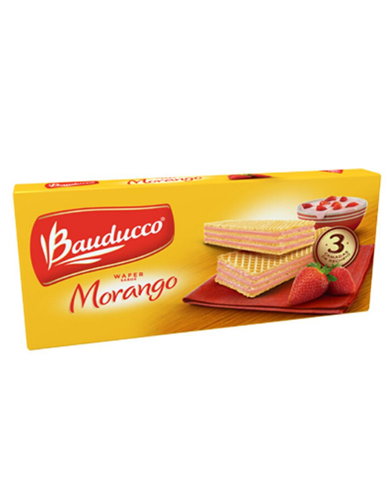Wafer Morango Bauducco