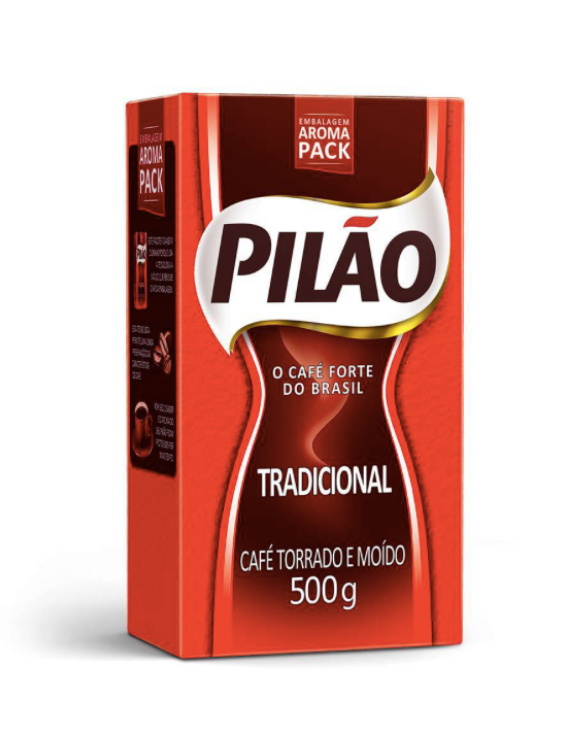 Café Pilão - 500g / Brazilian Coffee PILÃO - 500g (MEDIUM)