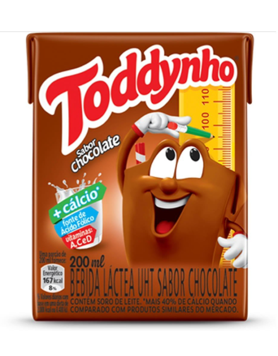 3-Pack* Toddynho Achocolatado - 200ml / Toddynho Chocolate Milk - 200ml