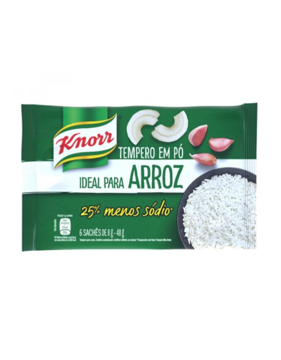 Meu Arroz Tradicional Knorr - 40g / Knorr traditional Onion & Garlic Seasoning - 40g