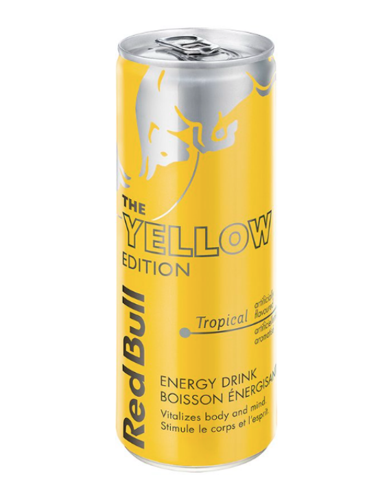 Red Bull Yellow Tropical - 250ml - Unidade