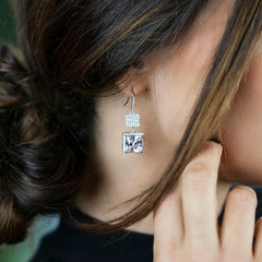 Cushion Cut | Earrings