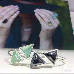 Triangle Cuff | Green