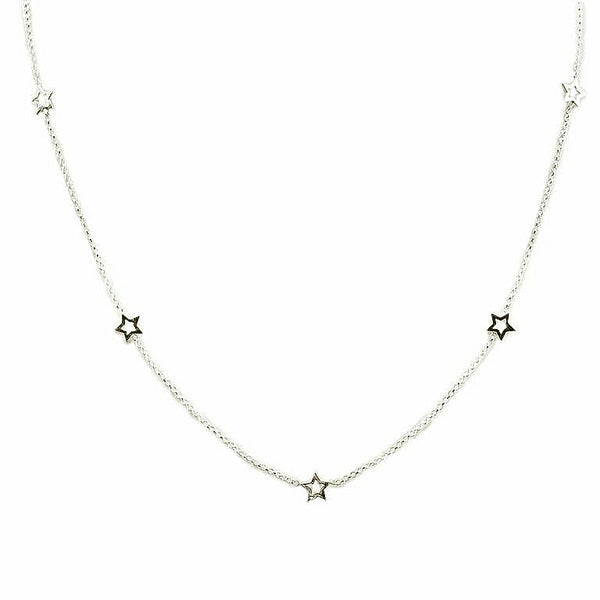 Mini Star Necklace | Silver