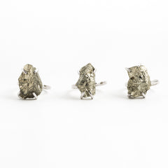 Raw Gem | Pyrite | Silver