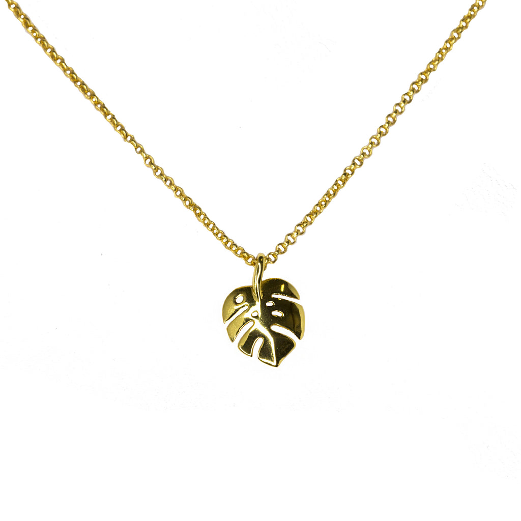 Monstera Leaf | Gold