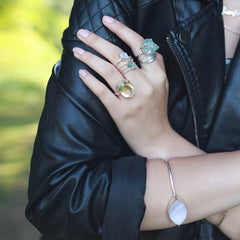 Diamond | Moonstone | Ring