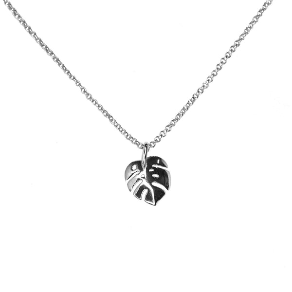 Monstera Leaf | Silver