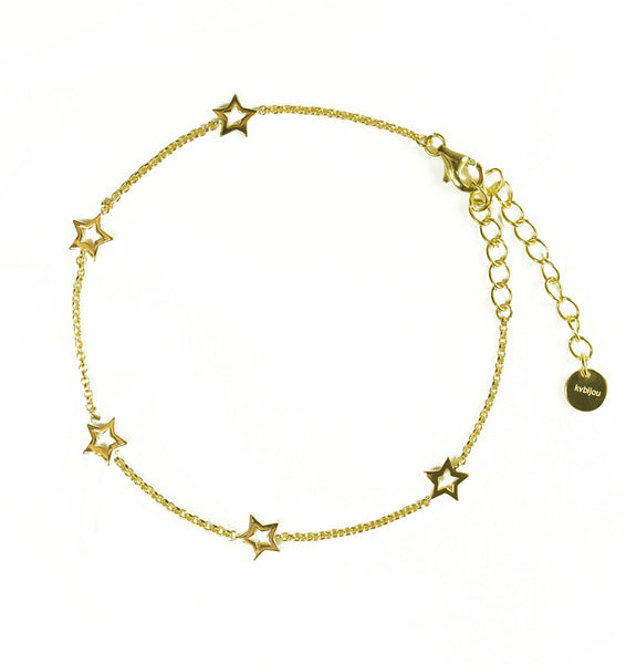 Mini Star Bracelet | Gold