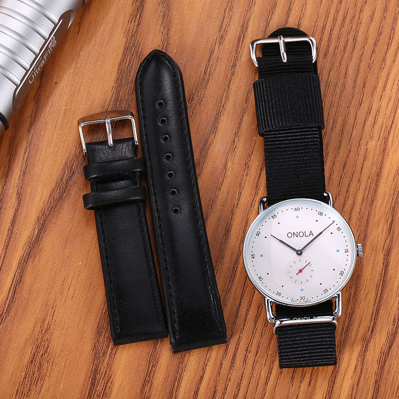New minimalist ultra-thin fashion men's watch explosion-proof waterproof quartz
