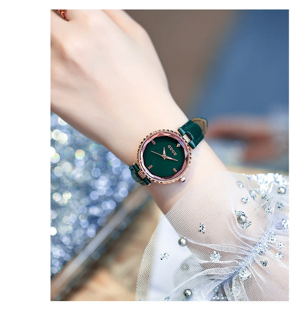 Fashion trend waterproof simple personality New ladies watch