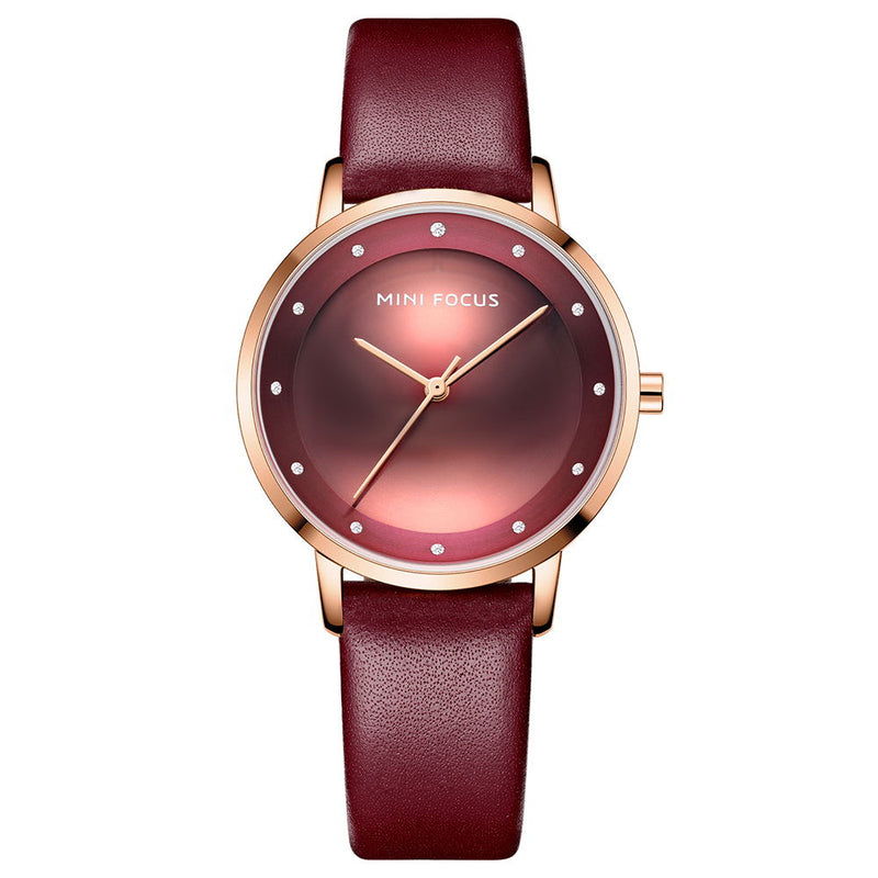 business women's watch belt watch Ultra thin watch