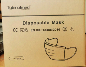 50-pack of Medical Masks