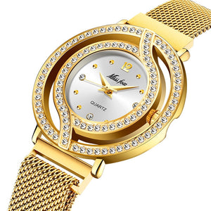 Magnetic Luxury Brand Waterproof Diamond Women Watch