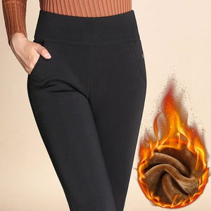 Winter women leggings pants