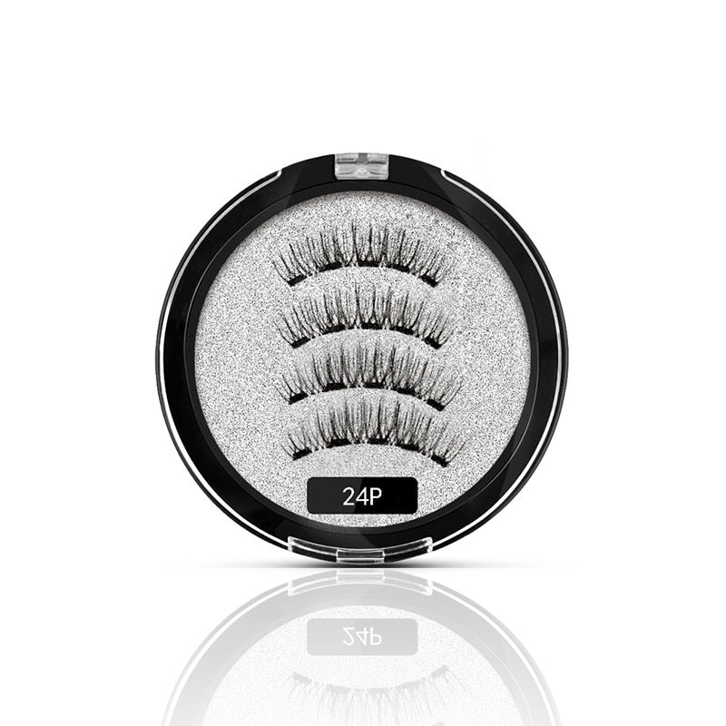 MB Magnetic Eyelashes With 5 Magnets 3D False Lashes