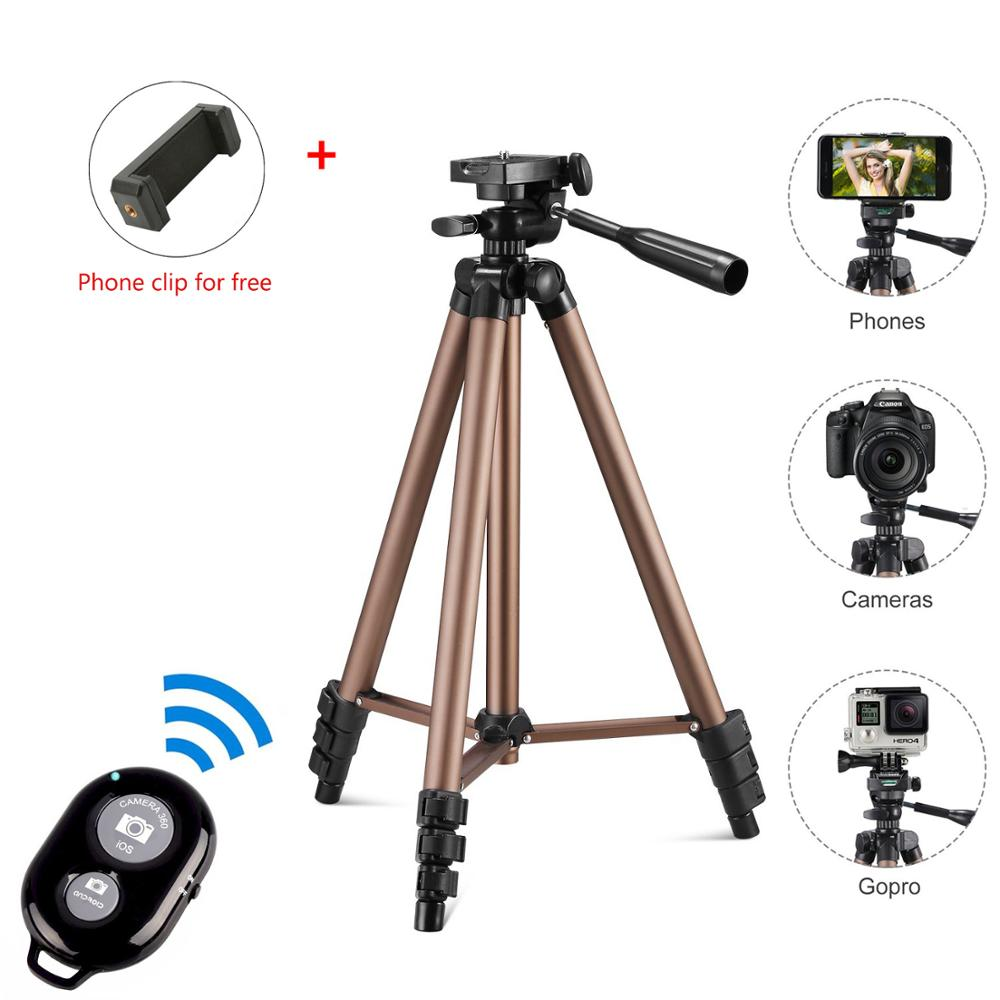 Camera Tripod for Smartphone Digital camera stativ Protable Photographic Tripode Mini Tripod for Travel Lightweight Camera Stand