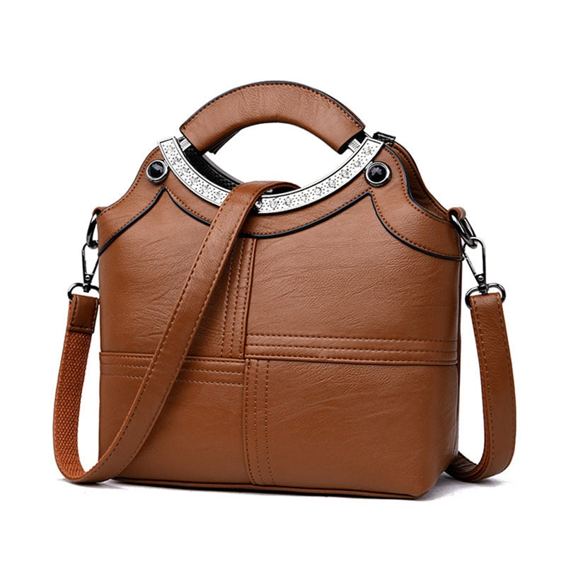 l Ladies Hand bags Leather Luxury Handbags