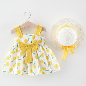 Summer Sleeveless Baby Dress set