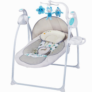 Babyfond German baby rocking chair baby electric rocking chair to appease the cradle bed  Ptbat rocking chair