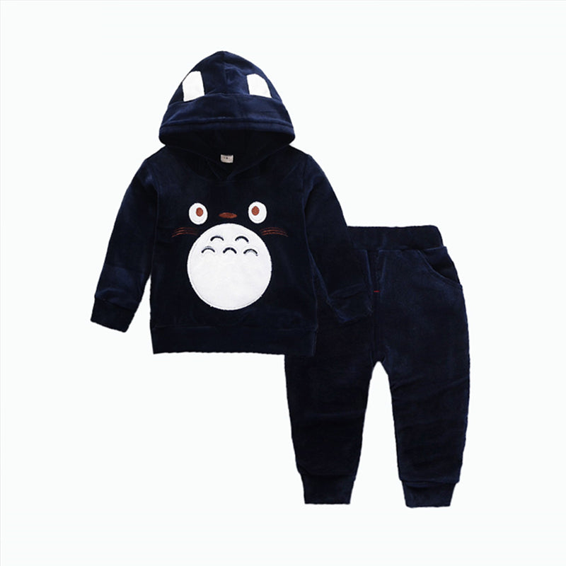 Fashion Children Boys Girl Cartoon Clothing Suits