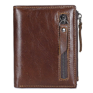 New Genuine Leather Mens Wallet