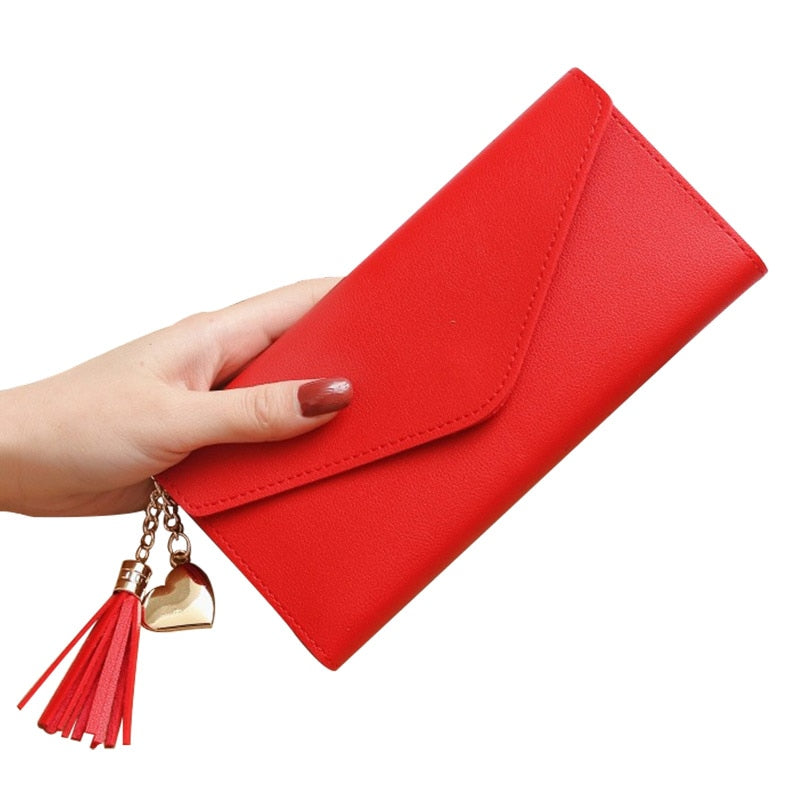 Fashion Women's Wallets Simple Zipper Purse
