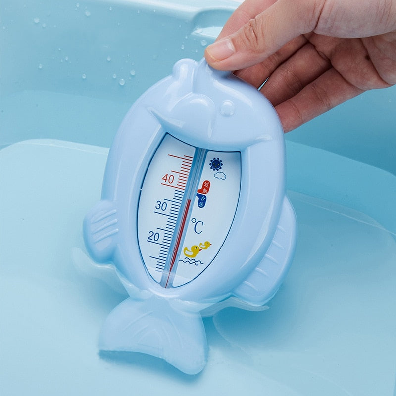 3 Colors Floating Lovely Fish Shape Baby Bath Water Thermometer Float Bath for Newborns A Child The Baby Babies Tub Water Sensor