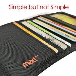 2020 Minimalist Slim Nylon Wallet For Men Women Slimline Ultra Thin Mini Small Male Female Zipper Coin Purse Compact Money Bag