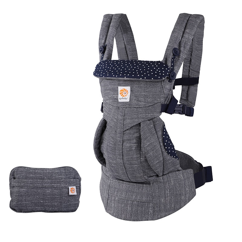 Egobaby Infant Newborn Comfortable Carrier Ergonomic Baby Carrier Multifunction Breathable Sling Backpack Kid Carriage omni 360